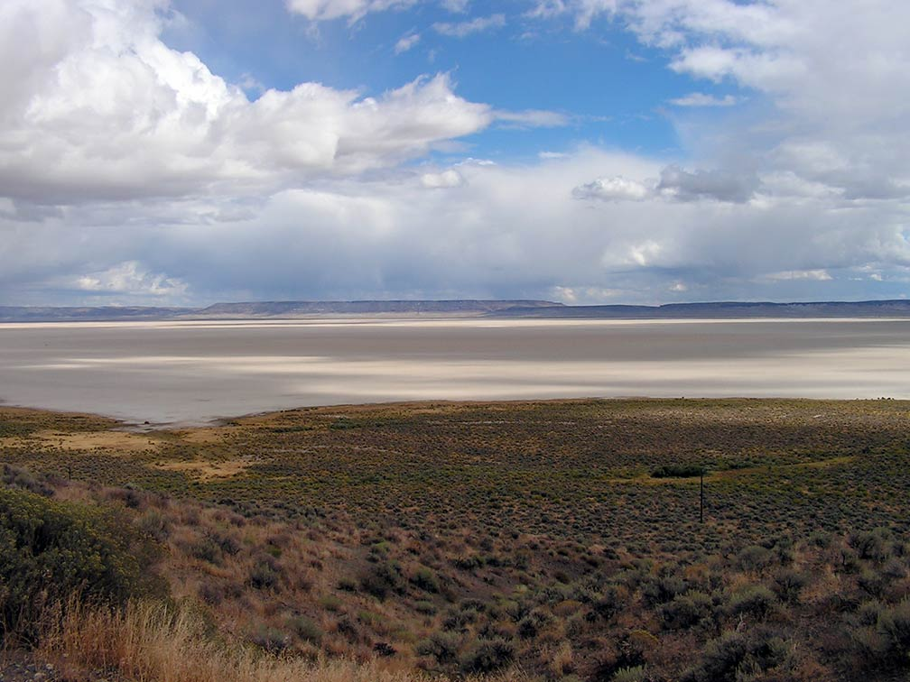 Alvord Desert in south eastern Oregon
