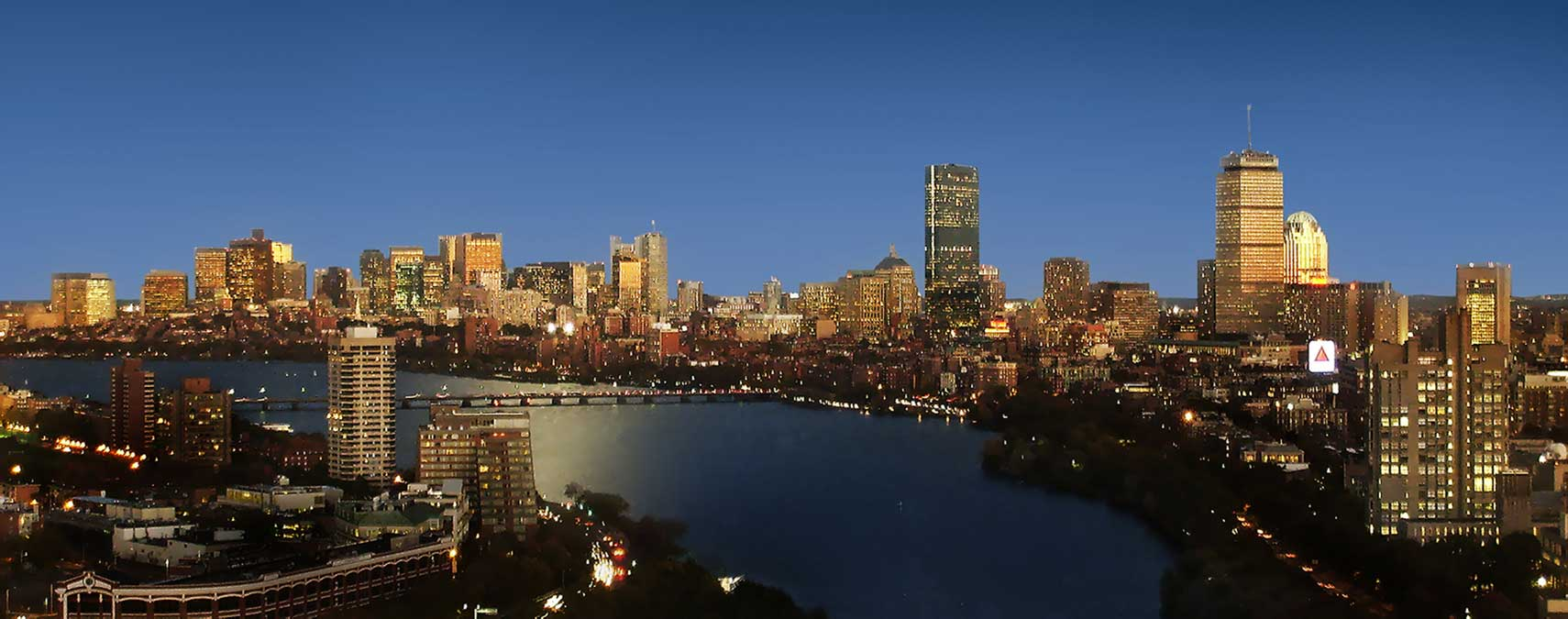 Google Map Of The City Of Boston USA Nations Online Project - Boston in usa map