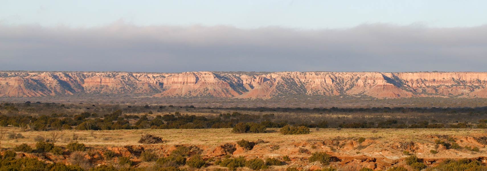 The Caprock Escarpment in Garza County, Texas