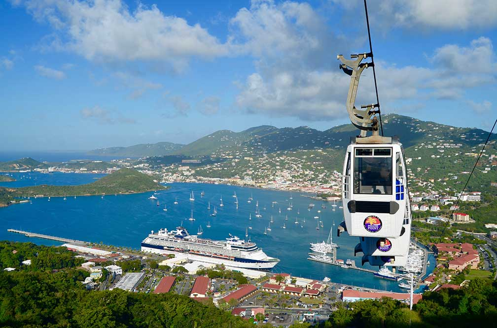 charlotte amalie on st thomas us virgin islands