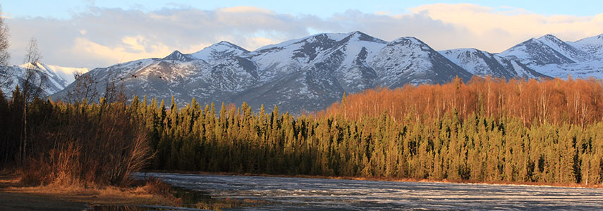 Chugach Mountains Anchorage Alaska
