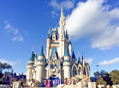 Cinderella Castle at Magic Kingdom, Walt Disney World, Bay Lake, Florida