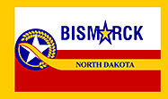 Flag of Bismarck, North Dakota