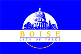 Flag of Boise, Idaho