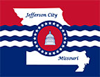 Flag of Jefferson City, Missouri