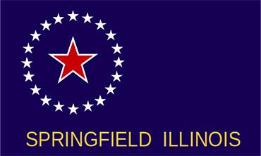 Flag of Springfield, Illinois