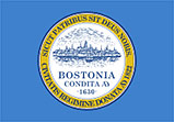 Flag of Boston, Massachusetts