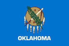 Reference Map Of Oklahoma USA Nations Online Project - Oklahoma map usa