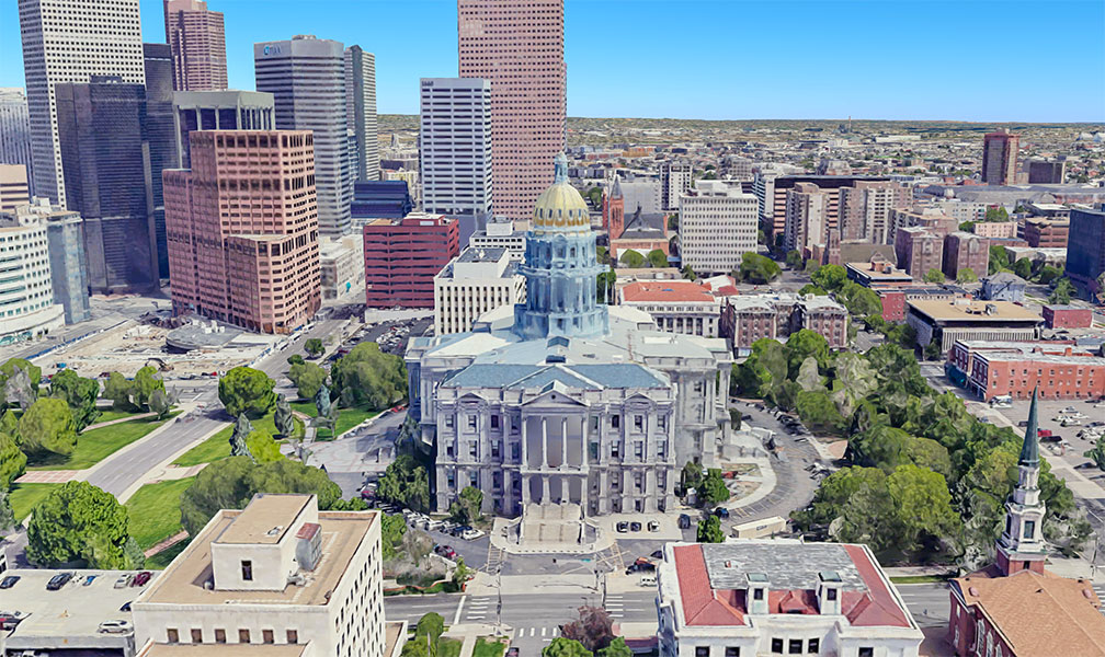 Colorado's State Capitol in Denver
