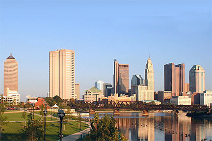 Actos del Partido Republicano Columbus-Ohio-skyline