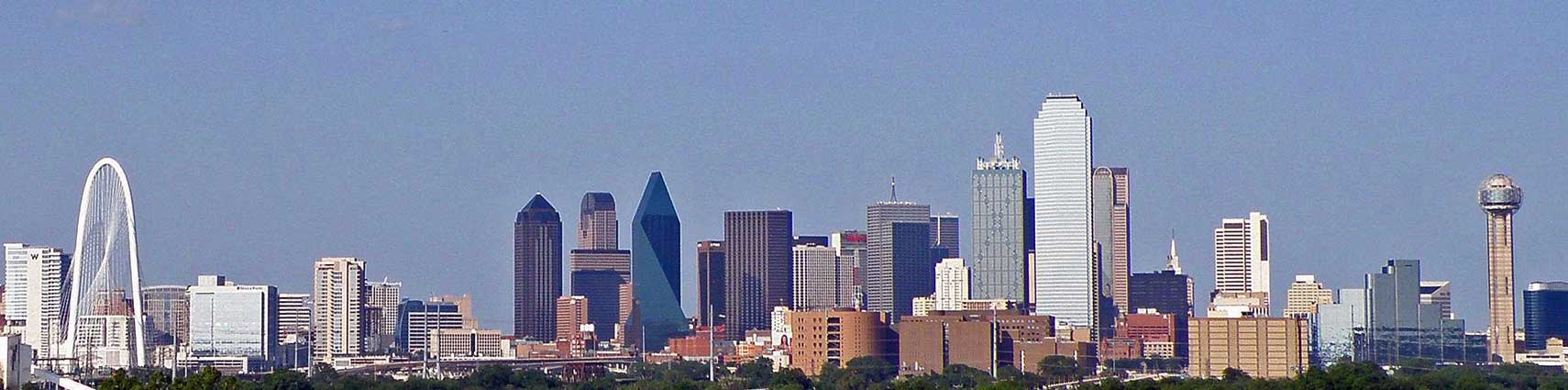Google Map of the City of Dallas, Texas, USA - Nations Online Project