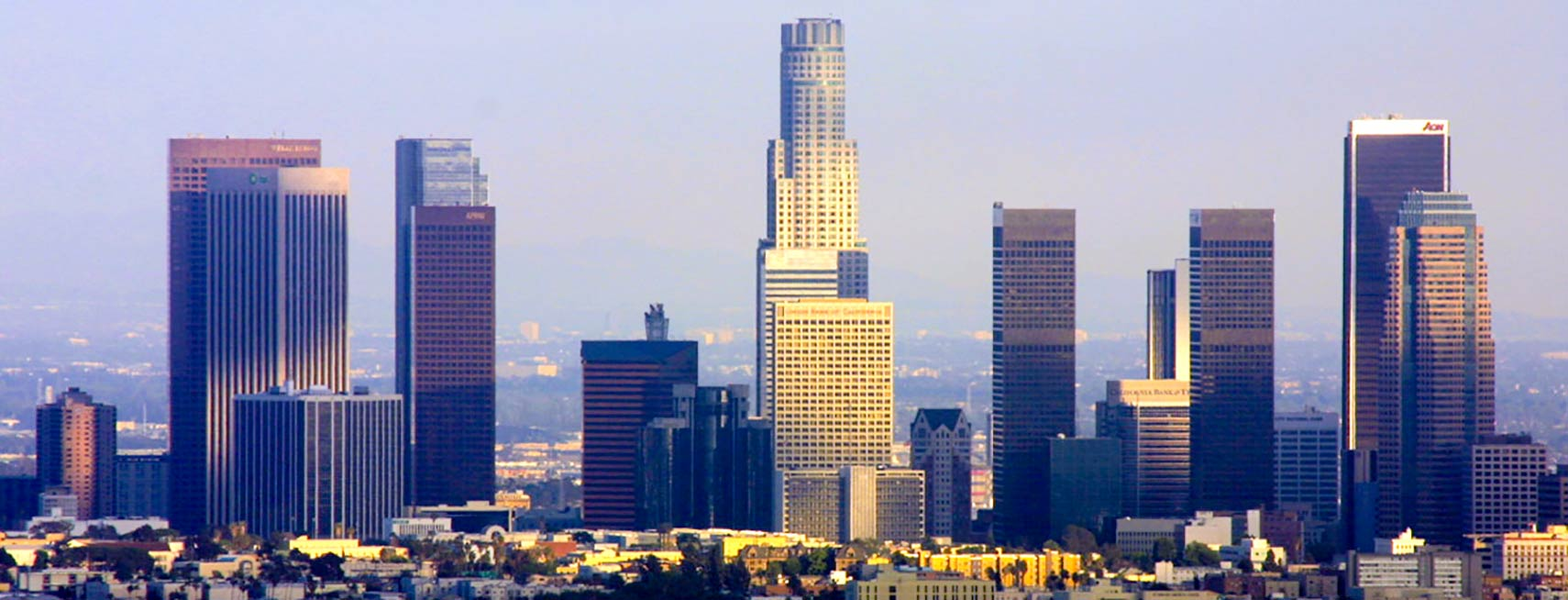Google Map of the City Los Angeles, USA - Nations Online Project