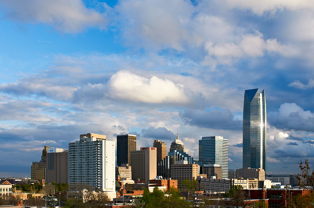 Skyline of Downtown Oklahoma City