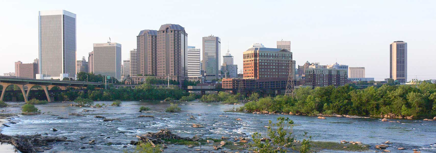 City Of Richmond Va >> Google Map of Richmond, Virginia, USA - Nations Online Project