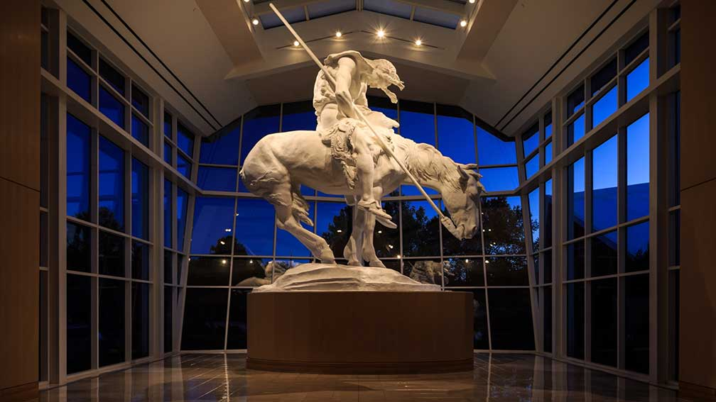 End of the Trail sculpture by James Earle Fraser, National Cowboy & Western Heritage Museum, Oklahoma City