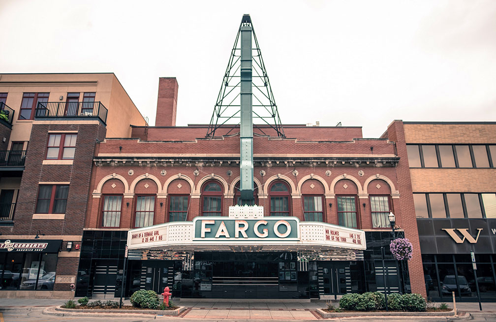 Fargo Theatre, art deco movie theater in Fargo, North Dakota