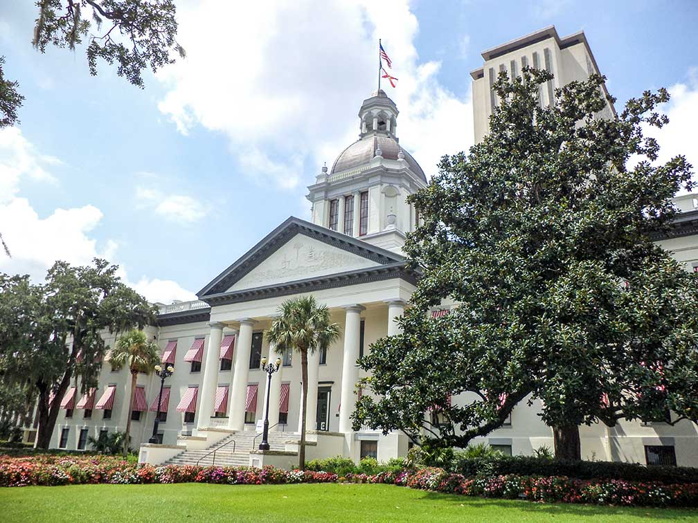 The Historic Capitol of Florida and Florida State Capitol, United States
