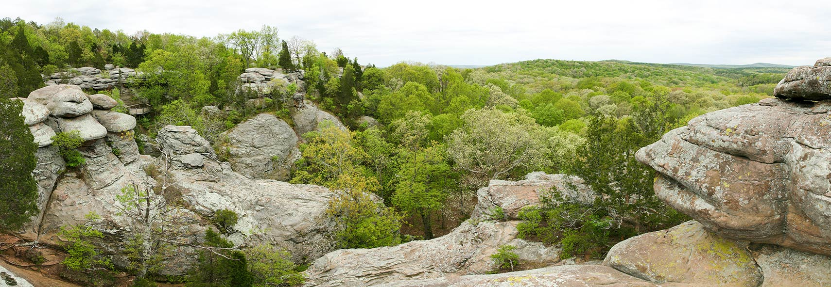 Garden Of The Gods Wilderness, Southern Illinois