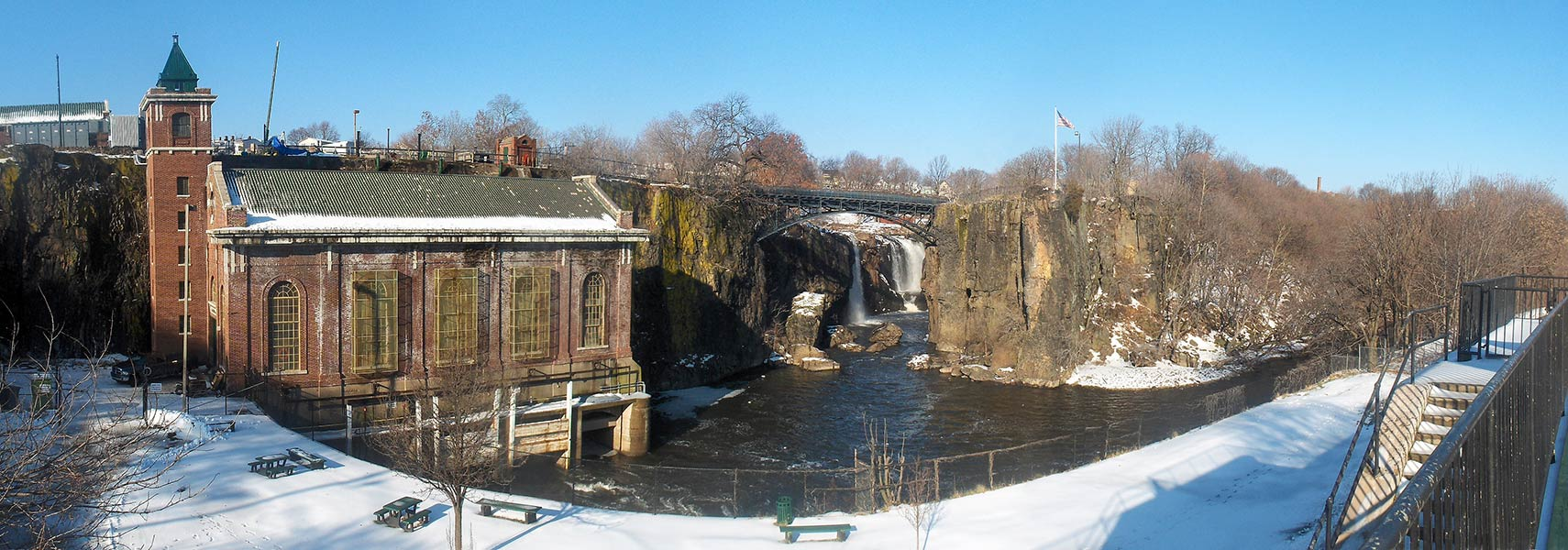 Great Falls of the Passaic River in Paterson, New Jersey