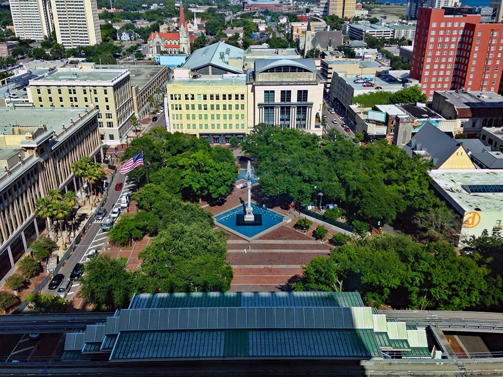 Hemming Park in Downtown Jacksonville