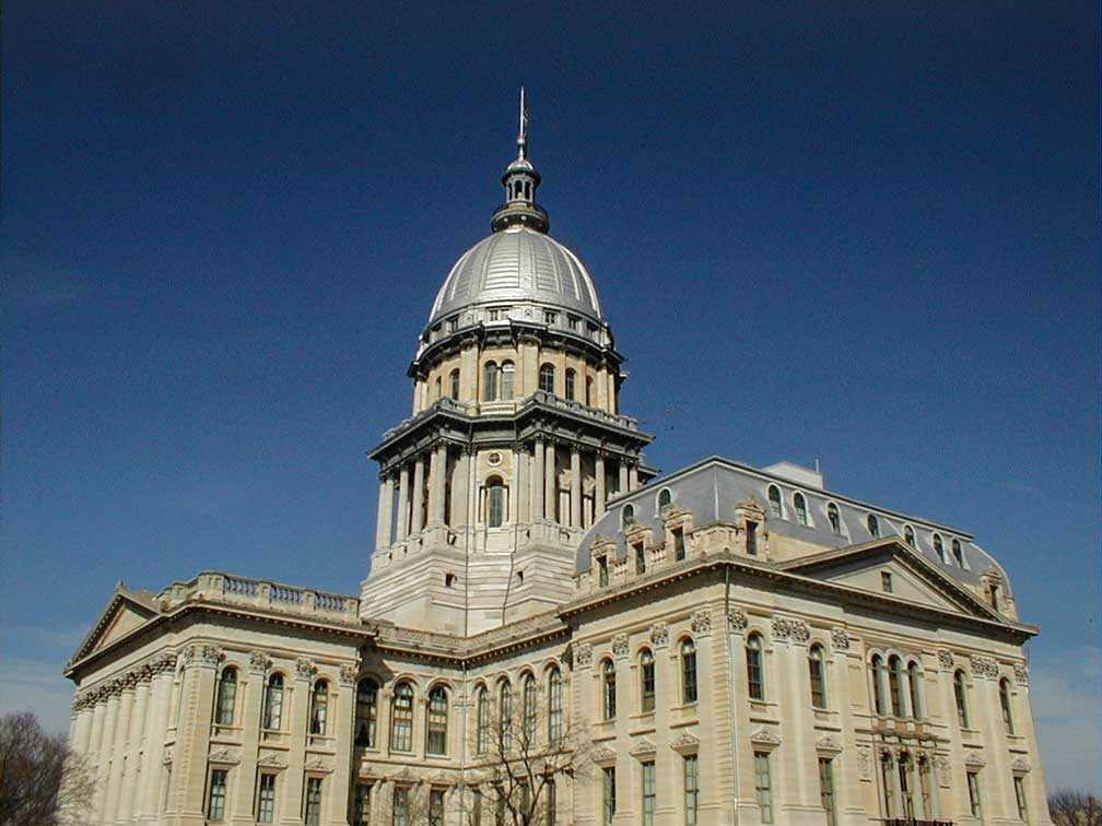Illinois Capitol building in Springfield