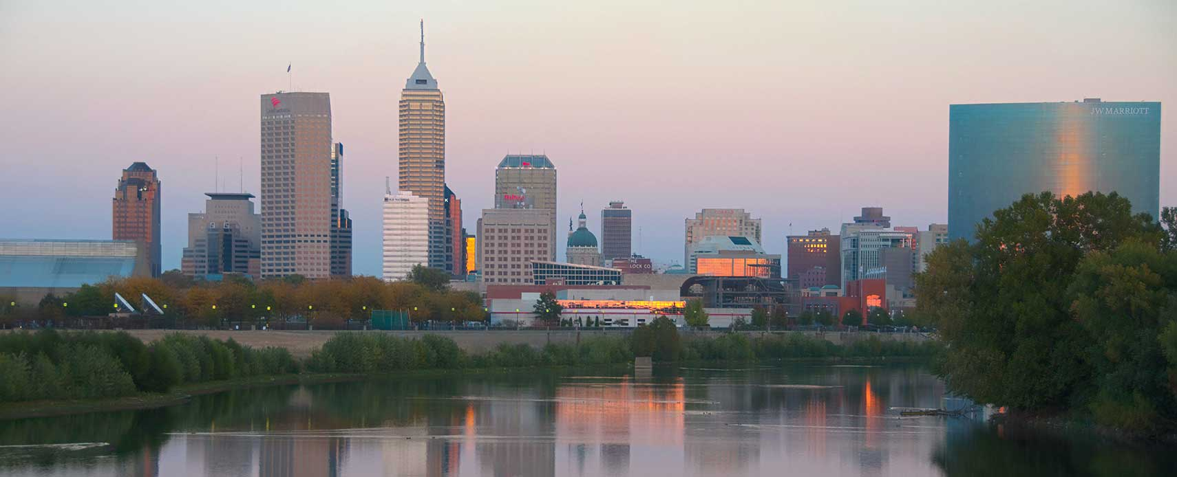 Google Map of Indianapolis, Indiana, USA - Nations Online Project