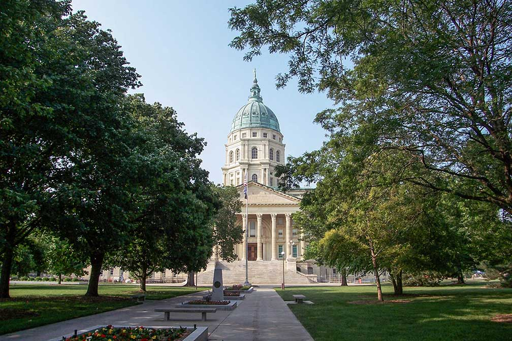 Kansas State Capitol or Kansas Statehouse, Topeka, Kansas