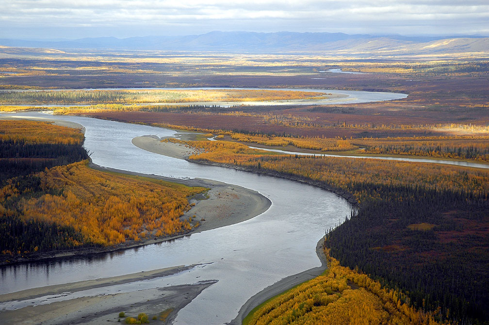 Koyukuk River, Kanuti National Wildlife Refuge Alaska
