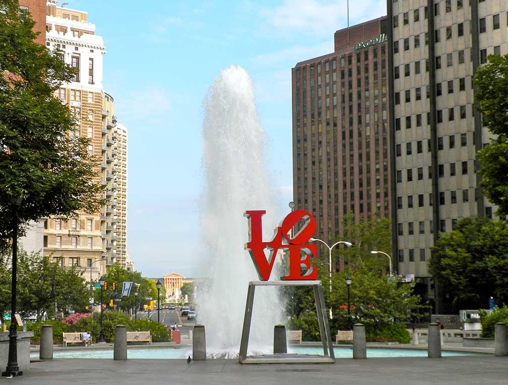 Center City Map Philadelphia on