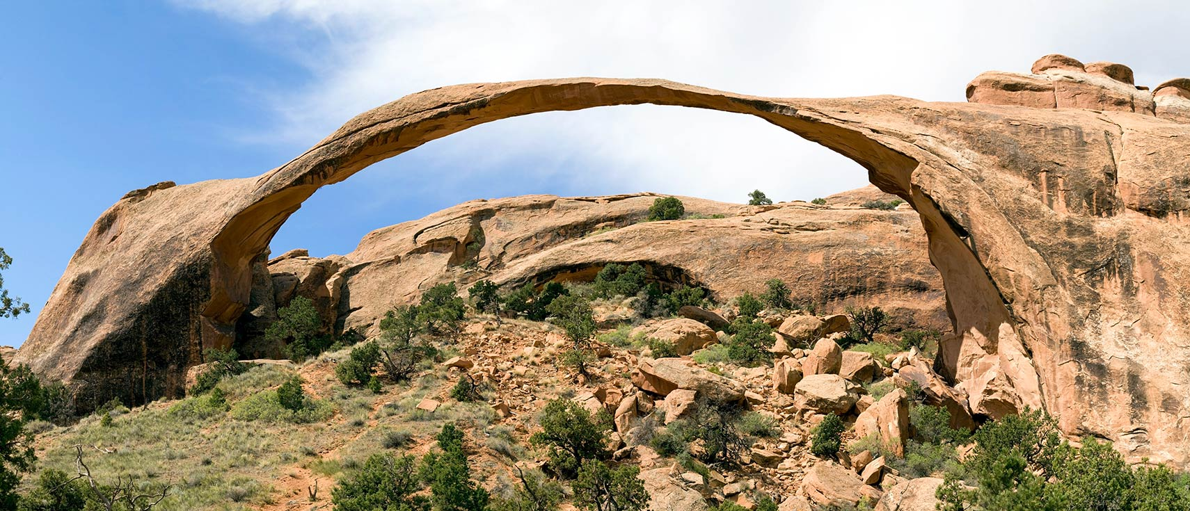 Landscape Arch in the Arches National Park