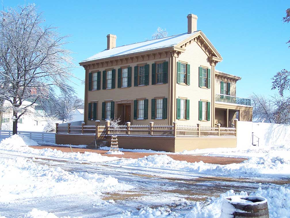 Lincoln Home National Historic Site in Springfield