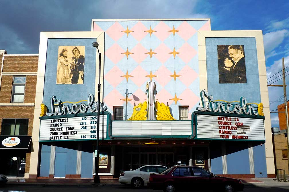 Lincoln Theater in Cheyenne, Wyoming, USA