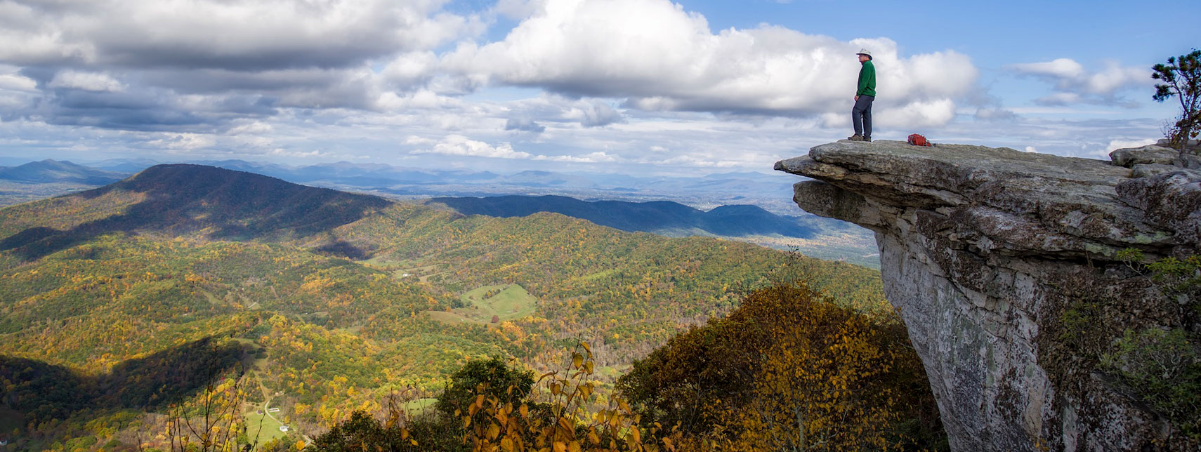 Catawba Valley from McAfee Knob in Virginia