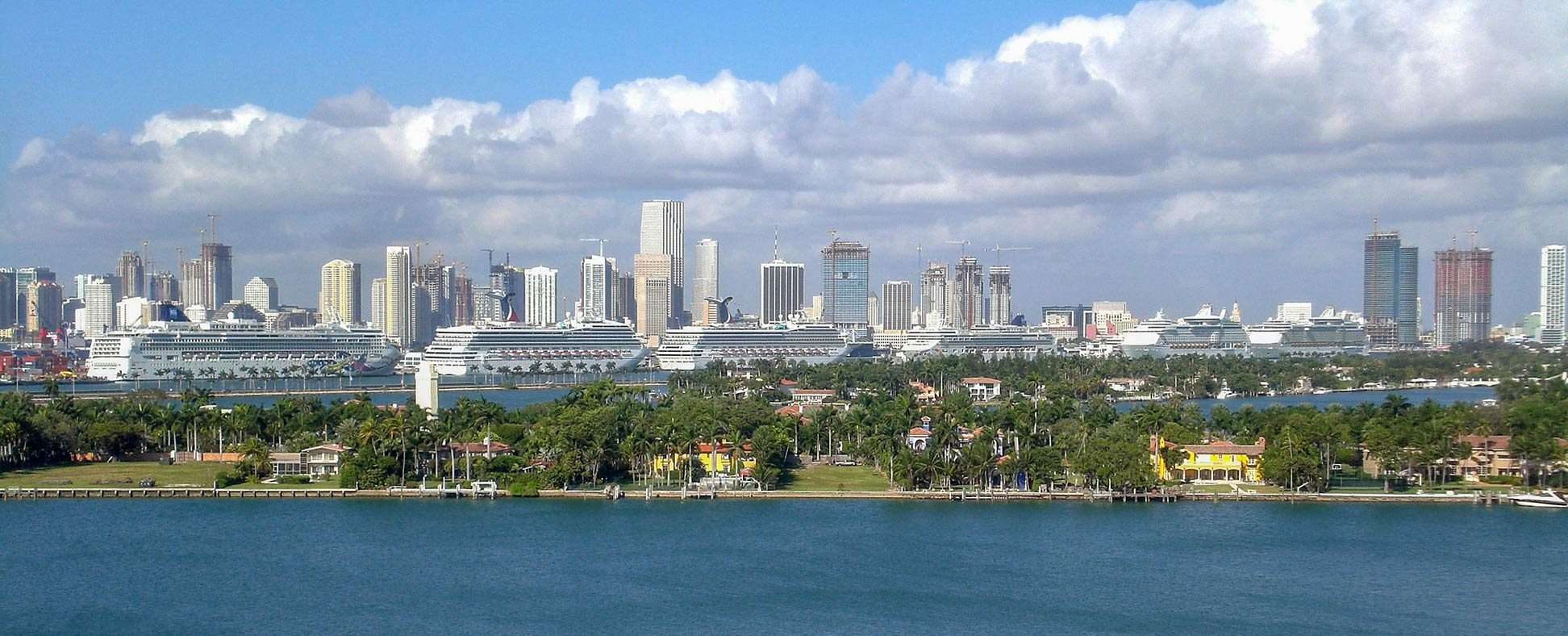 Google Map of Miami, Florida, USA - Nations Online Project