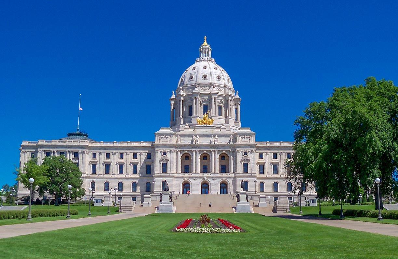 Google Map Saint Paul, Minnesota, USA - Nations Online Project