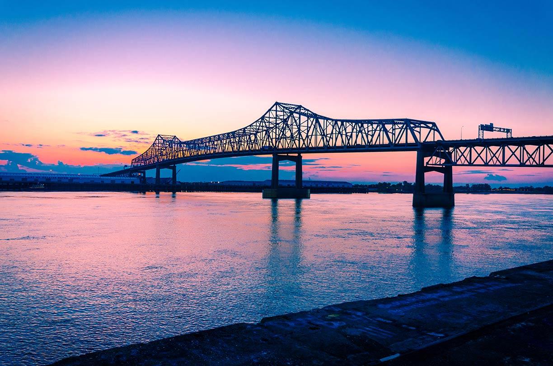 Google Map Of Baton Rouge, Louisiana, USA