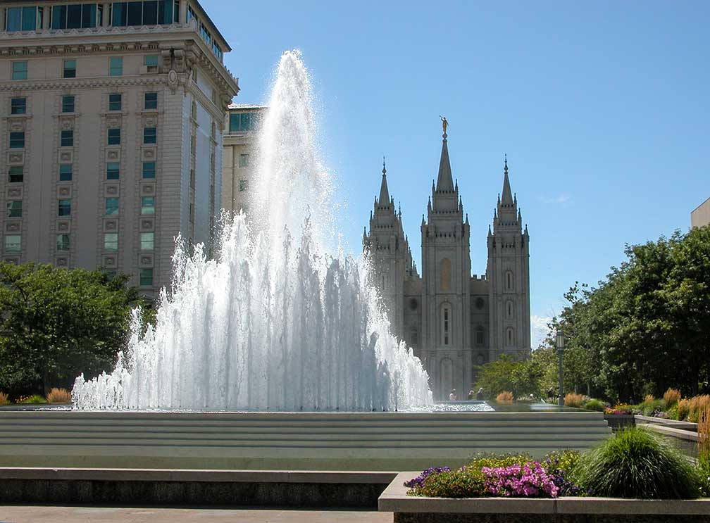 Salt Lake City's Temple Square
