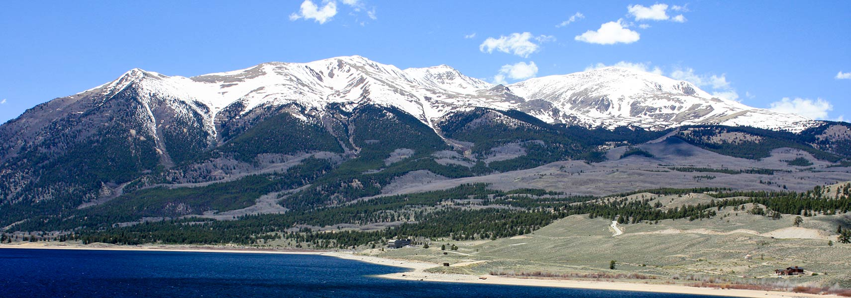 Mount Elbert and Twin Lakes, Sawatch Range, Colorado