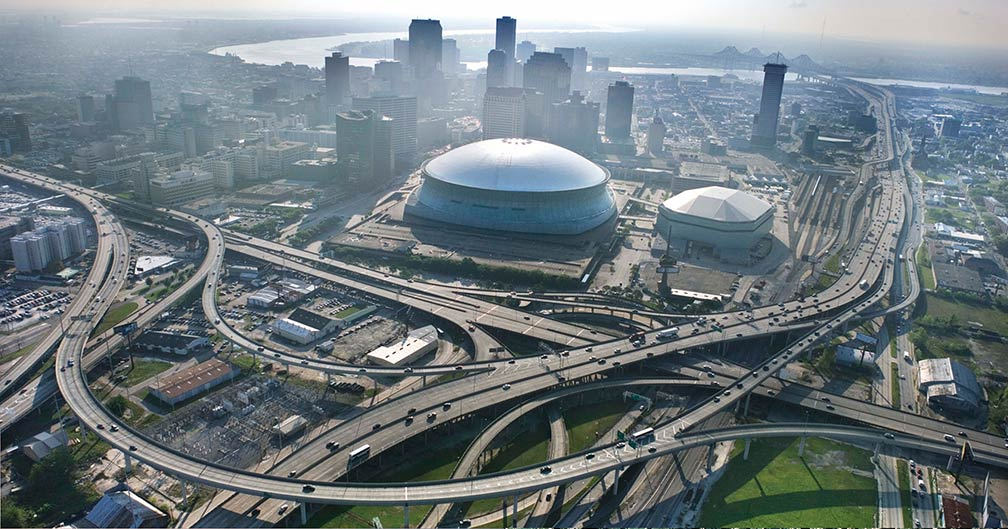 Reference maps of louisiana usa nations online project for Mercedes benz superdome new orleans la