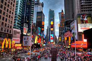 New York City, Times-Square
