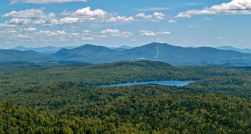 "Newark Pond and Burke Mountain in the ""Northeast Kingdom"""