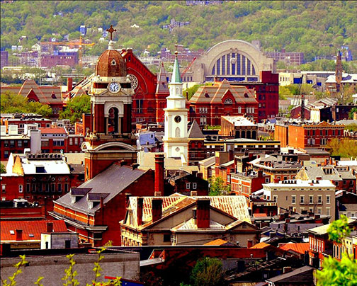 Over-the-Rhine, a neighborhood of Cincinnati, Ohio