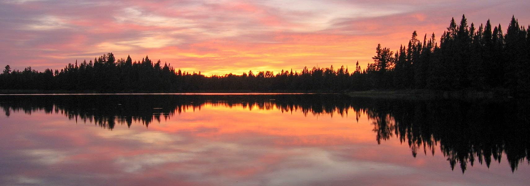 Lake Pose in Boundary Waters Canoe Area Wilderness