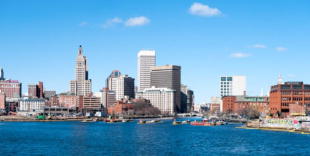 Skyline of Downtown Providence, Rhode Island