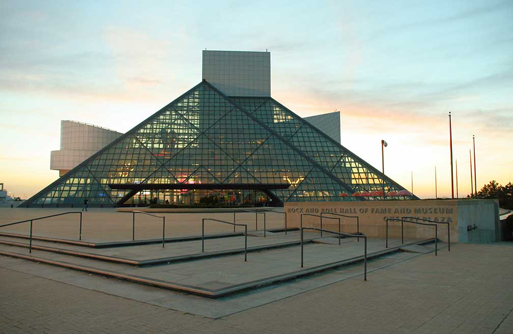 Rock and Roll Hall of Fame, Cleveland, Ohio, USA
