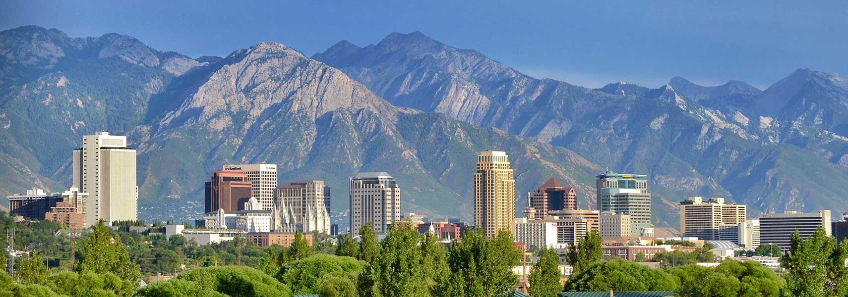 Google Map of Salt Lake City Utah USA Nations Online Project – Salt Lake City Tourist Attractions Map