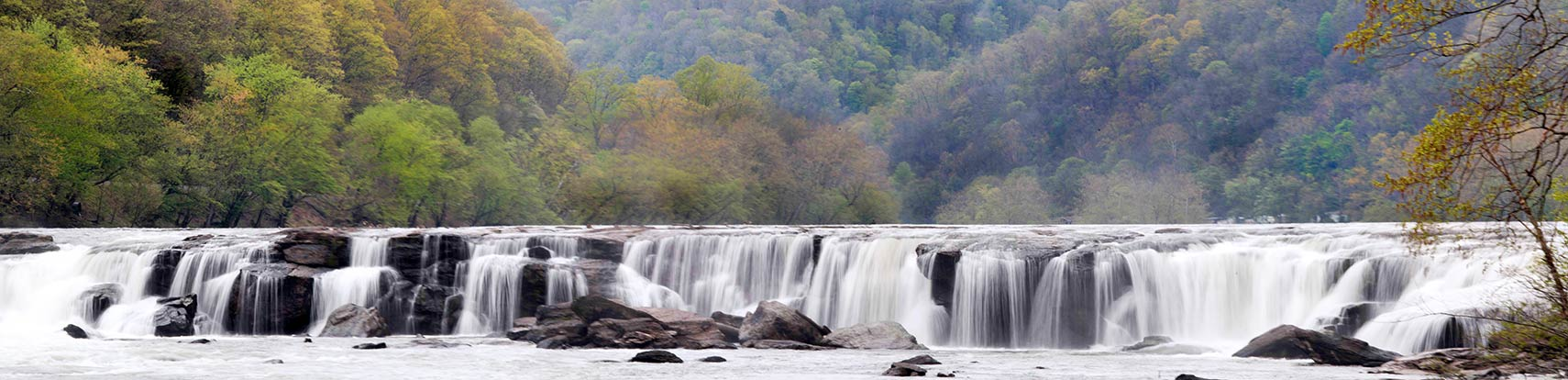 New River Sandstone Falls in Summers County, West Virginia