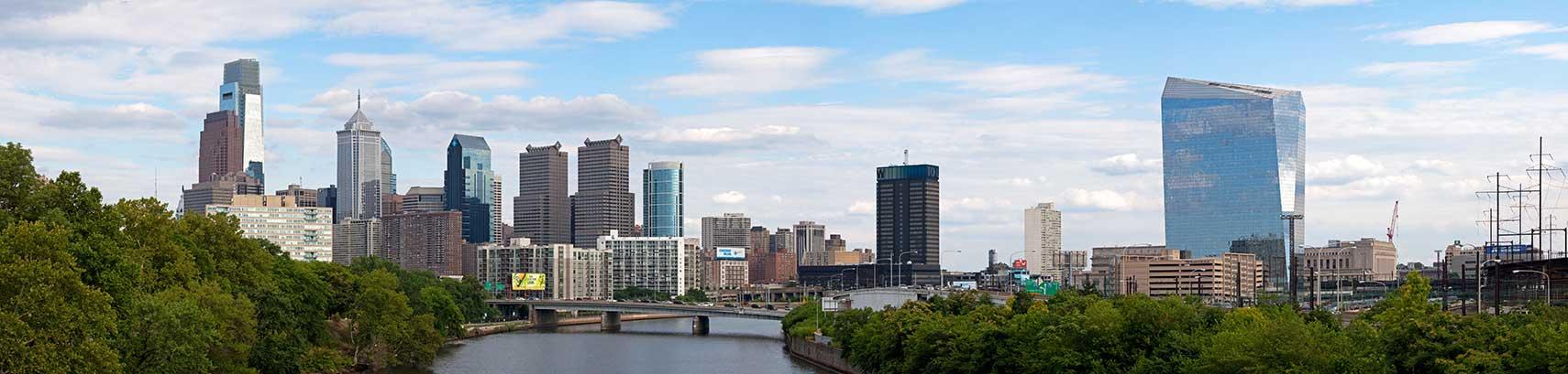 Google Map Of Philadelphia Pennsylvania USA Nations Online Project - Philadelphia map in usa