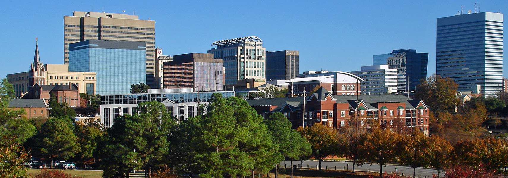 Skyline of Columbia, South Carolina