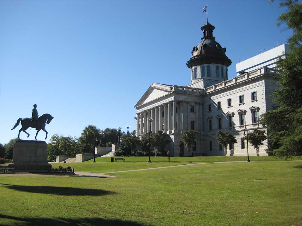 South Carolina State House, Columbia, South Carolina, USA